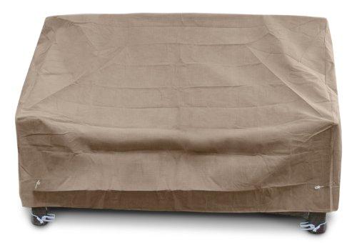 KOVERROOS III 39550 Deep Dossier Haut Loveseat/Housse de canapé, 152,4 cm (L) x 88,9 cm de diamètre 88,9 cm de Hauteur, Taupe
