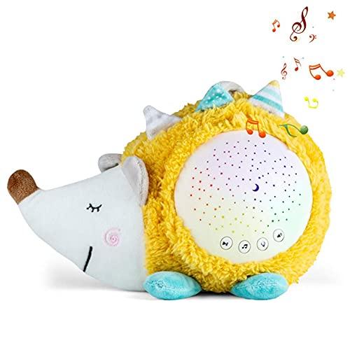Mancool Baby-Nachtlichter, Igel-Projektor - 4 Farbwechsellicht, romantische Nachtbeleuchtungslampe, einzigartige Geschenke für Geburtstagskinderzimmer Frauen Kinder Kinder Baby