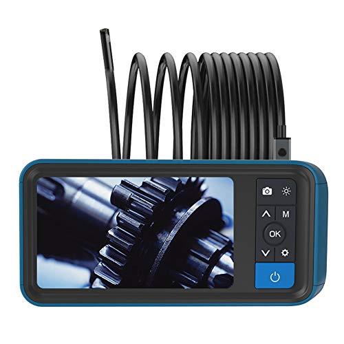 FADDARE Inspektionskamera Wasserdicht 4,5 Zoll 1080P Auto & Play mit 32 Karte Wiederaufladbare 8 mm Endoskop Helligkeit Einstellbarer LCD-Bildschirm 6 LED-Leuchten Doppelobjektiv