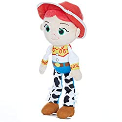 Jessie is the famous Pull-string cowgirl doll from the blockbuster toy story movie series A fun-loving companion to encourage little ones to develop imaginative play adventures Jessie wears black and white patterned trousers with ribbon tags to encou...