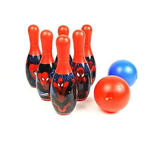 マーベル スパイダーマン ボウリングセット おもちゃ Marvel's Spider-Man ボーリング スポーツ キャラクター 子供 キッズ 男の子 女の子 誕生日 プレゼント