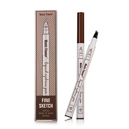 Turelifes Tattoo Eyebrow Pen 4 puntas larga duración