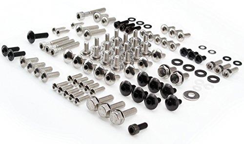 Aprilia RS4 50 125 Schraubensatz Verkleidung Verkleidungsschrauben ab Baujahr 2011 Set Schrauben 103 Bauteile