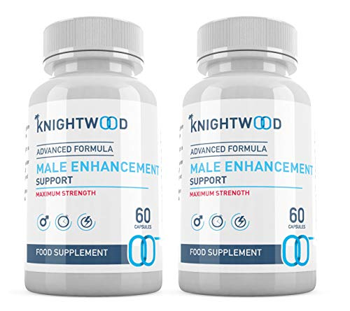 KnightWood Male Enhancement (120 Capsules) - Advanced Formula - Vitamin B6, Saw Palmetto, Ginseng Extract Korean, Fenugreek Powder, L-Arginine, Vegetarian Testosterone Booster - SUPPLEMENT PARADISE