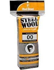 Red Devil 0312 Steel Wool, 00 Very Fine, (Pack of 16)