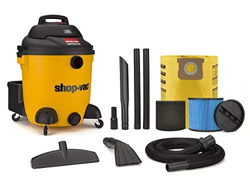 Shop-Vac 9627110 Aspiradora de 12 galones 5Peak Hp para contratista en seco y húmedo