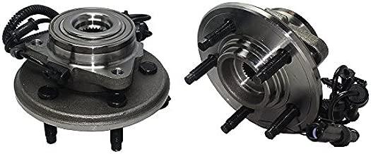 Detroit Axle - Front Wheel Bearings & Hubs (2-pc Set) for 2006-2010 Ford Explorer/Mercury Mountaineer - [2007-2010 Explorer Sport Trac] - 515078 x2