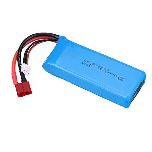 Grehod Batería de Lipo de 7.4v 2500mAh 903480 para Syma X8C X8W X8G X8 RC 12428 12423 Piezas de automóvil Batería de Juguetes SMPlug