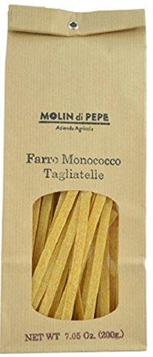 Tagliatelles - Pâtes à la farine d'épeautre complète Monococco 7.06 Oz. (200g)
