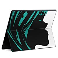 igsticker Surface Pro X 専用スキンシール サーフェス プロ エックス ノートブック ノートパソコン カバー ケース フィルム ステッカー アクセサリー 保護 001239 ユニーク その他 女の人 デザイン