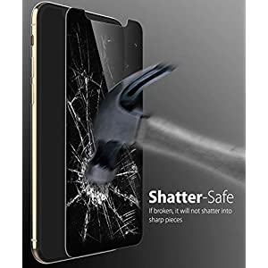 """iPhone 11 Pro MAX/XS MAX Screen Protector, Fosmon [Touch] Privacy 2-Way Tempered Glass Anti-Spy Tinted Shatter Proof 9H Hardness Glass Screen Shield for Apple iPhone 11 Pro MAX/XS MAX (6.5"""")"""