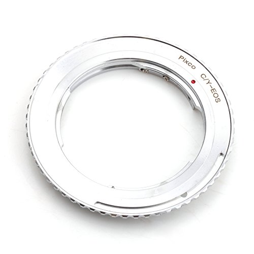 Traje adaptador de la lente Pixco para NIKON Montaje de la lente F para Canon EOS cámara 80D 760D 750D 5DS (R) 7D Mark II 5D Mark III 5D Mark II (Contax-EOS)
