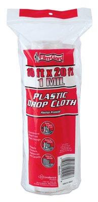 Berry Plastics / Film-Gard HS007 10 x 20-Ft. Medium-Duty Plastic Dropcloth - Quantity 10