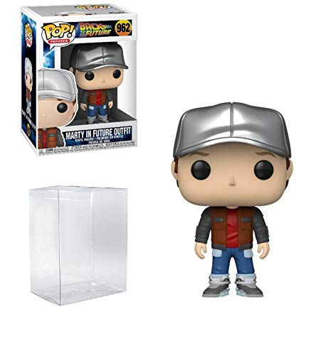 Marty McFly in Future Outfit #962 Pop Movies: Back to The Future Vinyl Figure (Includes Ecotek Pop...