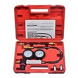 Prokomon Cylinder Leak Down Tester,Compression Test kit -Engine Cylinder Dual Gauge Leakdown Tester kit Diagnostics Tool
