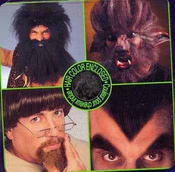 Horror-Shop Deluxe Théâtre Cheveux Gris