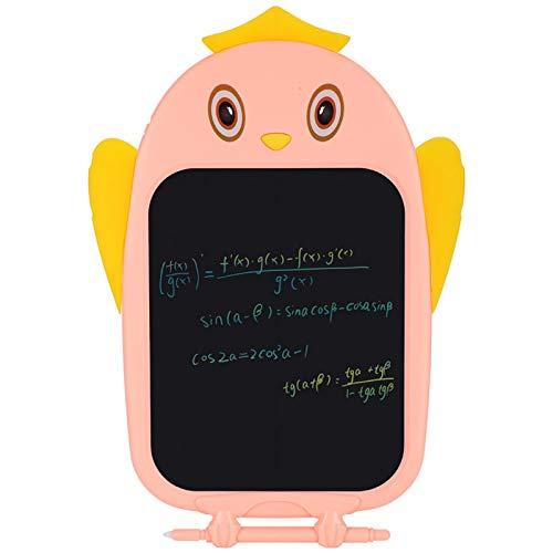 Tablero de escritura de dibujos animados de letras, tableta de escritura LCD, escritura para el hogar Graffiti regalos de cumpleaños Pintura de dibujos animados para niños