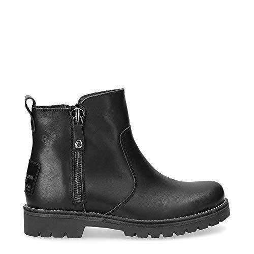 Panama Jack Fuji Igloo - Botas de invierno para mujer, piel de cordero, color Negro, talla 39 EU