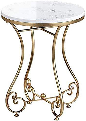LJYY Tavolino da Salotto Quadrato in Legno a Doppio Strato con Struttura in Marmo Tavolino da Salotto Divano tavolino con mobili per la casa di Piccole Dimensioni, Singolo