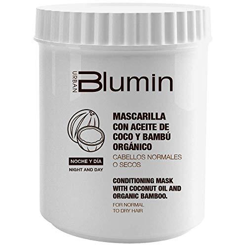 Blumin Mascarilla de Pelo Mascarilla para el Cabello con Aceite de Coco y Bambú Orgánico 700 ml