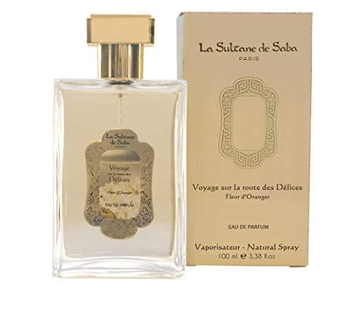 La Sultane de Saba - Eau de Parfum à la Fleur d'Oranger, 100ml - Voyage sur la route des Délices