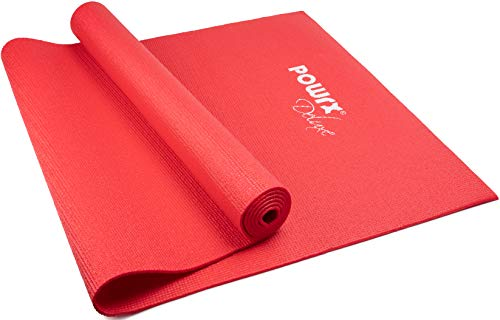 Yogamatte Größe: ca. 173 cm x 61 cm x 0,4 cm (Rot)