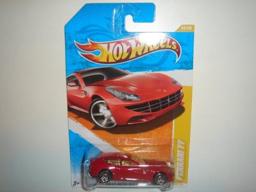Mattel 2011 Hot Wheels New Models Ferrari FF Red #45/244