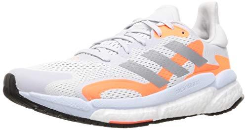 adidas Solar Boost 21 M, Scarpe da Corsa Uomo, Dash Grey/Silver Met./Screaming Orange, 44 EU
