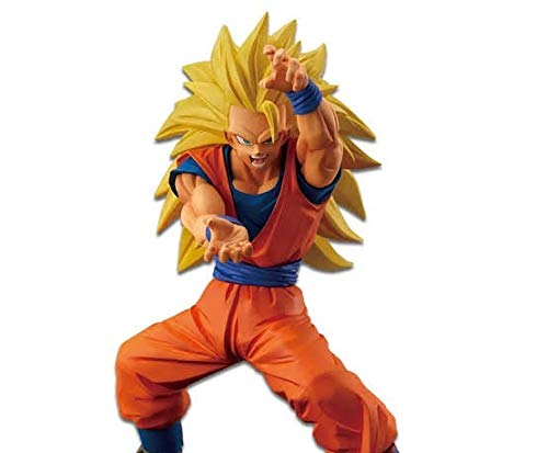 DB Banpresto Son Goku Super Saiyan 3 Dragon Ball Super Chosenshiretsuden vol. 4 Figura de PVC 16 cm