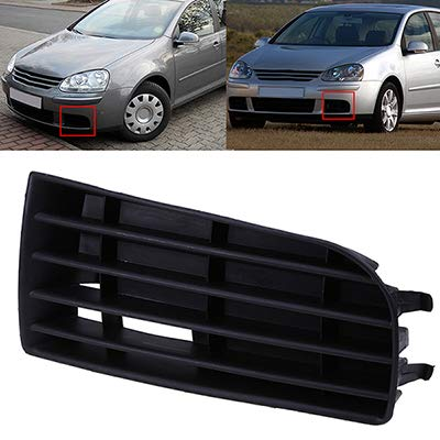 Auto Frontschürze unteres Gitter für VW Golf 5 2004 2005 2006 2007 2008 2009 Auto Side Replacement Accessories,1pcsLeft