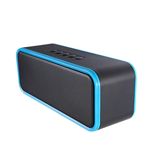 Bluetooth Speaker, Draagbare Voice Prompt Dual Speakers 8W Draadloze Audio Subwoofer Sound Bot