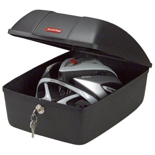 KLICKfix Fahrradtasche BIKE BOX 12 L, schwarz, M, 0845K