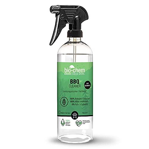 Bio-Chem BBQ-Cleaner Grillreiniger-Spray - 750 ml - Profi-Qualität: Effektiv & materialschonend - Für Edelstahl, Aluminium, Gasgrill, Gusseisen, Emaille, Grillrost, Kohlegrill u.v.m.