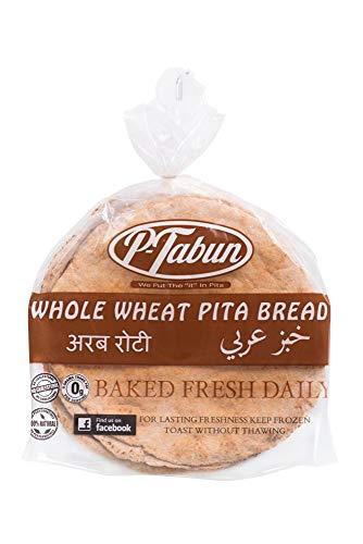 Pita bread whole wheat- P-tabun ❤️no gmo ✡️OU ☮️Vegan