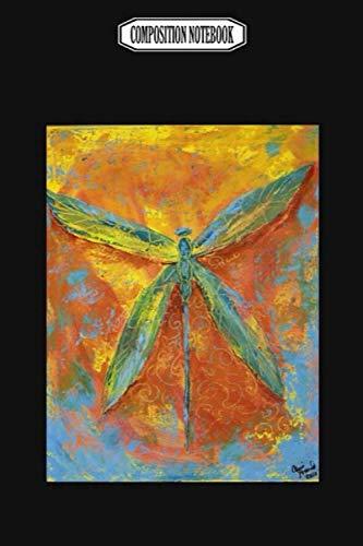 [画像:Composition Notebook: Dragonfly Peace Audioquest Blue Corkcicle Dragonflies Barrette Dragonfly Notebook Journal Notebook Blank Lined Ruled 6x9 100 Pages]