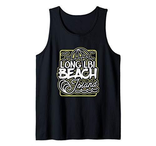 LBI Long Beach Island NJ Souvenir Long Beach Tank Top