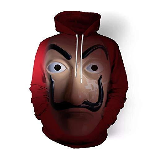 SQDWYA 3D Hoodie, Anime Kostuum Cosplay Kostuum Horror Avatar Cos Anime Rond 3D Sweater