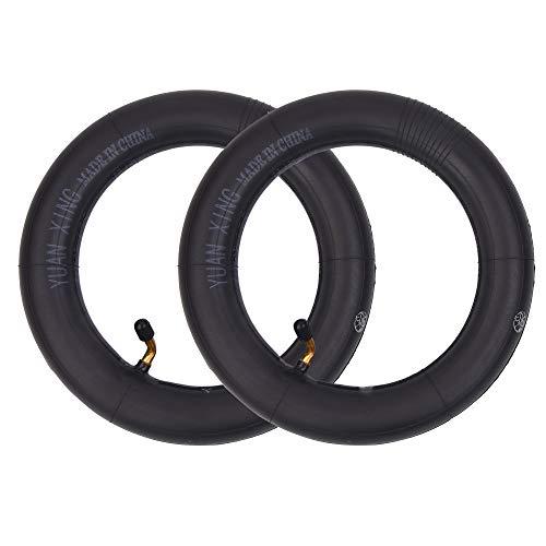 RUHUO - Juego de 2 cámaras de aire (10 x 2,125 (10 pulgadas), repuesto para patinete de 2 ruedas autoequilibrado