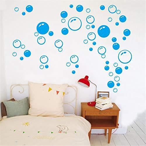 Creatieve Bubbels Wall Art Badkamer Raam Douchetegel Decoratie Sticker Kid Auto Sticker Waterdicht en Verwijderbare muursticker 701, M0701B