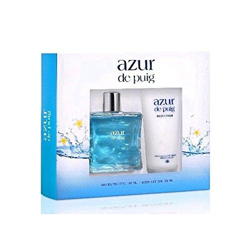 Azur De Puig Eau De Toilette 100Ml Vapo. + Body Milk 100Ml