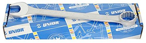 Unior 125/1CB Jeu de clés à fourche courte en carton 6-32/26 pouces