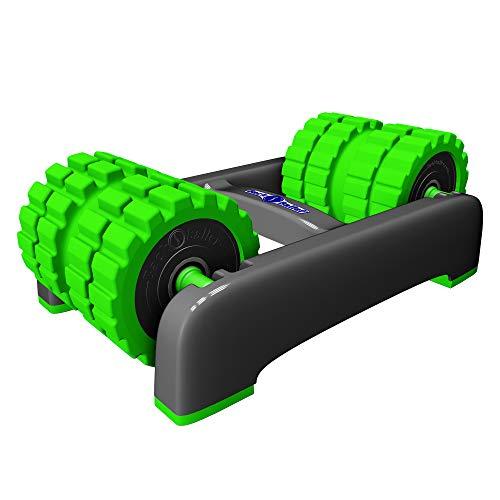 BackBaller Foam Roller (Ridged) - Muscle Roller for Deep Pain Relief. Ideal for Runner Cyclist Footballer Athlete