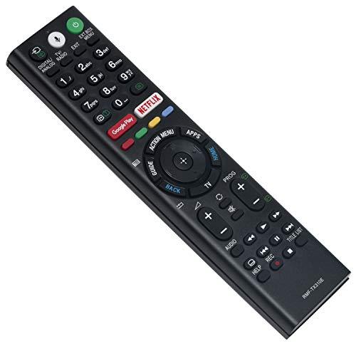 Vinabty RMF-TX310E - Telecomando vocale per Sony KD43XG81 KD43XG8196BU KD-43XG8096BU KD-49XG8096BU KD-55XG8096BU KD-65XG8096BU LED 4K HDR Ultra HD Smart Android TV