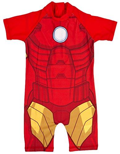 Lora Dora Boys Character Sun Suit Iron Man Novelty 2-3