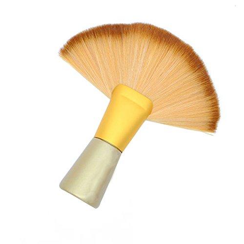 Frcolor Coiffeur cheveux Sweep cou Face Duster brosse cheveux doux style outil pinceau de nettoyage