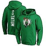ANHPI Jayson Tatum # 0 Boston Celtics - camisetas de baloncesto de los hombres de fans masculinos formación sudaderas (Color : B, Size : L)