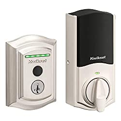 powerful Kwikset HaloTouch No need for a traditional curved smart Wi-Fi fingerprint lock hub …