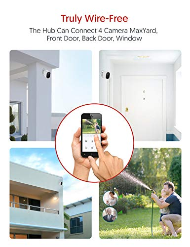 Victure Home Security Camera System, Wireless Outdoor Camera, AI Face Recognition, IP65 Waterproof, Rechargeable Battery, 1080P Night Vision, 2-Way Audio(Pack of 2)