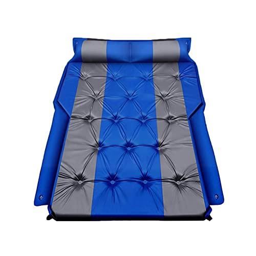 GZA Colchón De Aire Inflable para Niños Cama para Niños Cama Portátil Asiento Trasero Sople-Almohadilla para Dormir Vacaciones De Camping Materac Dmuchany (Color : Blue)