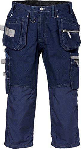 Fristads Kansas Workwear 110316 3/4 Handwerkshose Gr. 53, dunkles marineblau